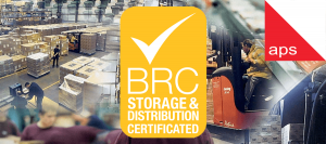 aps co-packing facility maintains British Retail Consortium (BRC) Storage & Distribution accreditation for 2021
